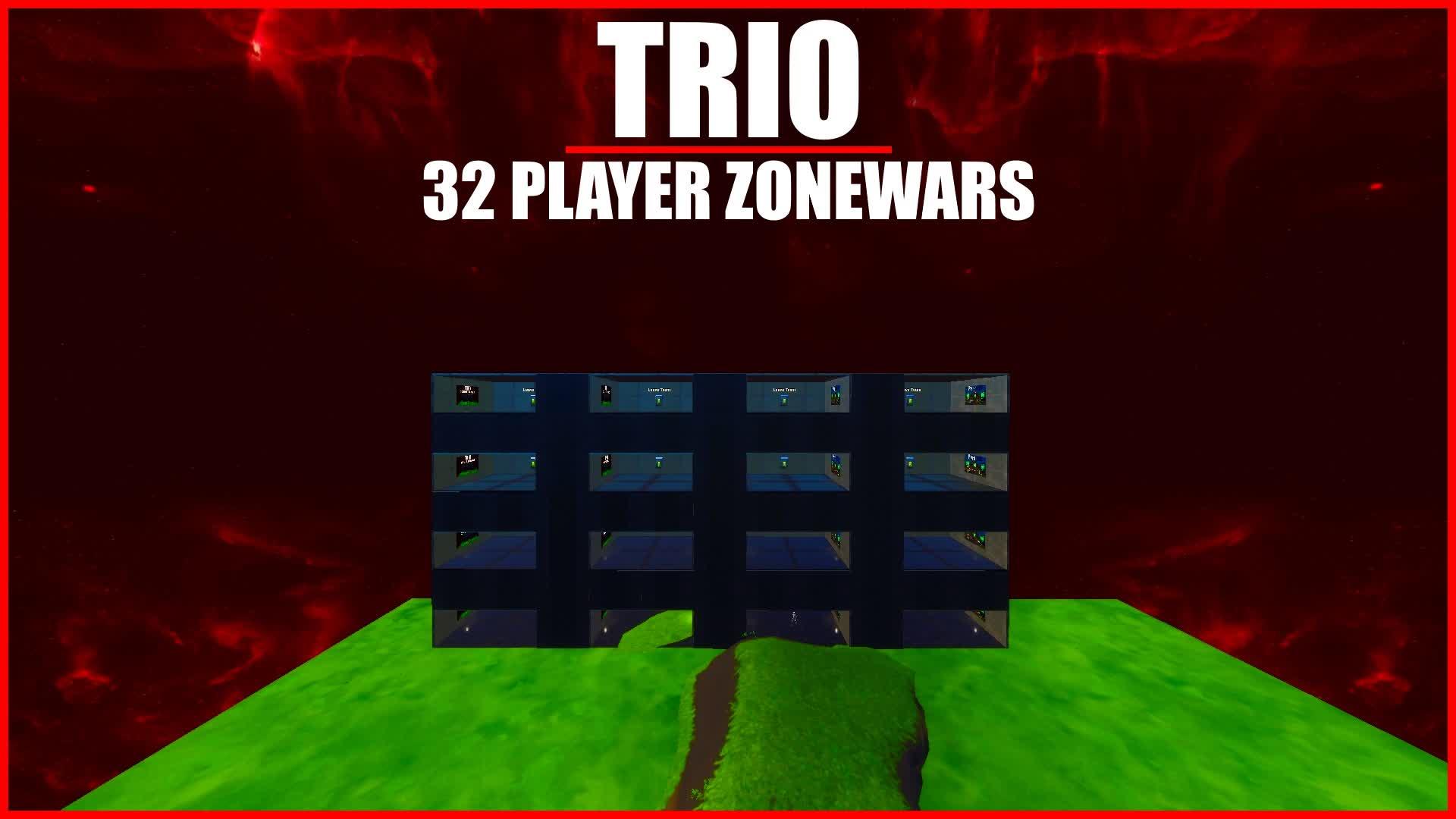 Simple TRIO ZoneWars [32 Players] 😎😎😎 1469-2440-9680 by pandvilnetwork